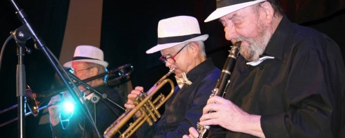 Koncert Happy Play Dixieland Band w Lidzbarku.